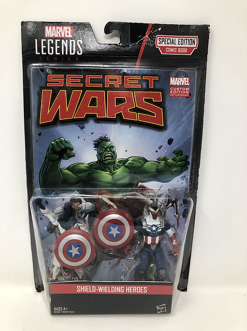 Secret Wars Shield Wielding Heroes Comic Pack