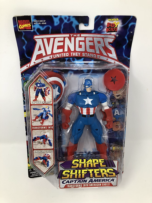 Avengers Captain America Shape Shifters Toy Biz