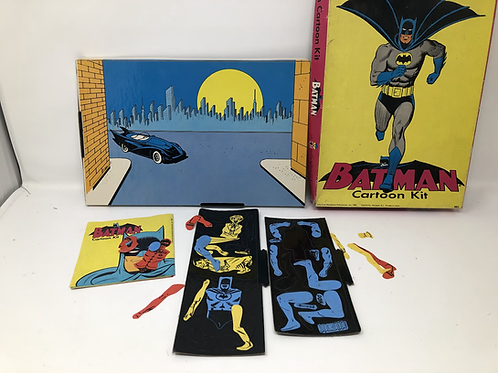 Batman Cartoon Kit Colorforms DC 1966