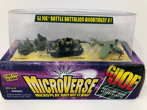 GIJOE Microverse Battle Battalion Assortment #1 1996 Hasbro Kenner