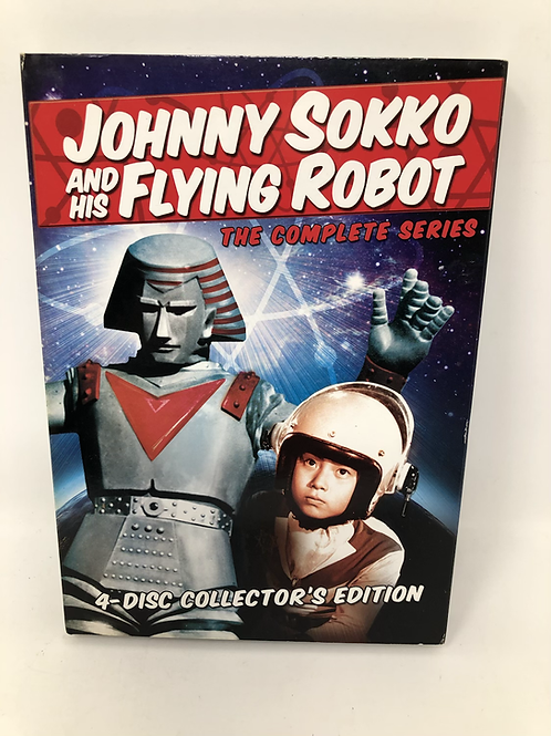 Johnny Sokko and His Flying Robot Complete Series 4 DVD Set