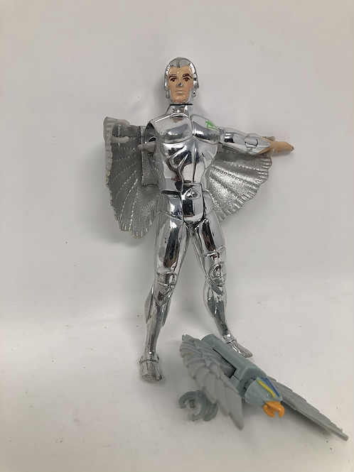 Silverhawks Quicksilver for Parts and Tally-Hawk Kenner