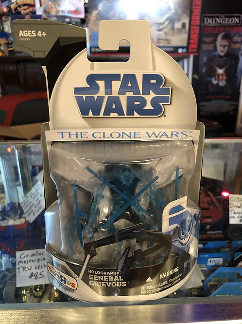 Star Wars Clone Wars Toys R Us Holographic General Grievous Hasbro Disney