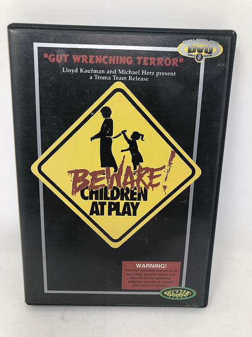 Beware! Children at Play DVD Troma