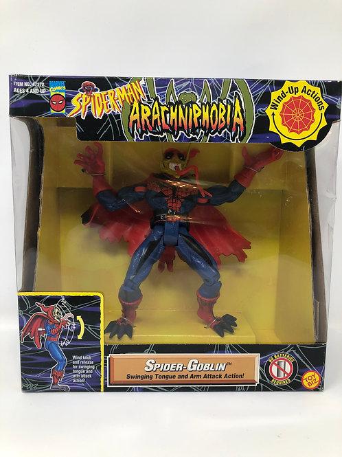 Spider-man Arachniphobia Spider-Goblin 1996 Toybiz