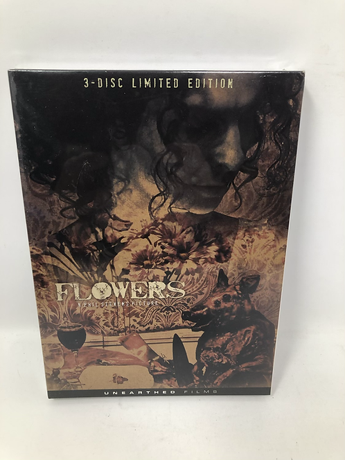 Flowers DVD 3 Disc set with Soundtrack Rare Horror