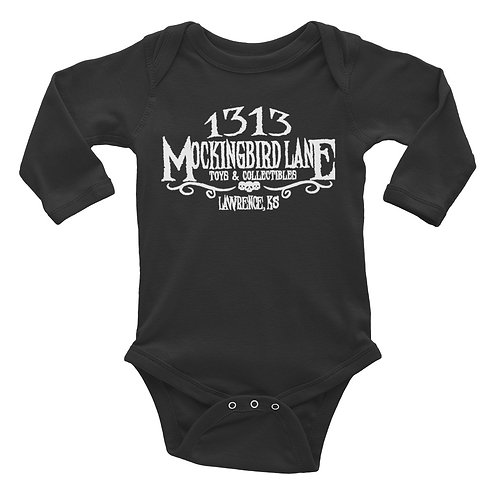 1313 MBL Long Sleeve Baby Bodysuit