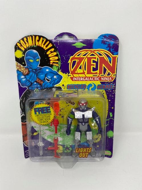 Zen Intergalatic Ninja Lights Out 1991 Justoys