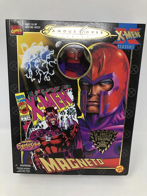"Famous Covers Marvel Magneto 8"" Toybiz"
