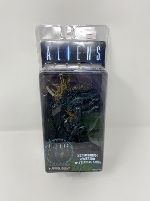 Aliens Xenomorph  Warrior (Battle Damaged) Neca
