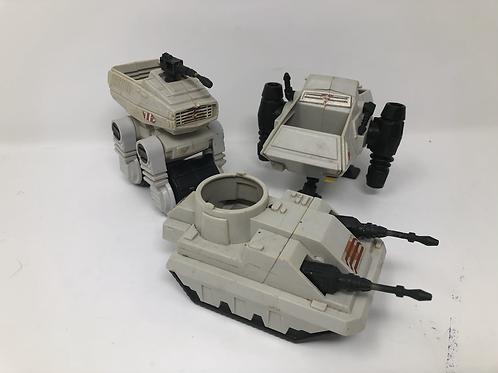 Star Wars Kenner 3 Mini Rig Lot for Parts