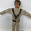 "Thumbnail: Evel Knievel Bendy 7"" 1972 Ideal White Suit"