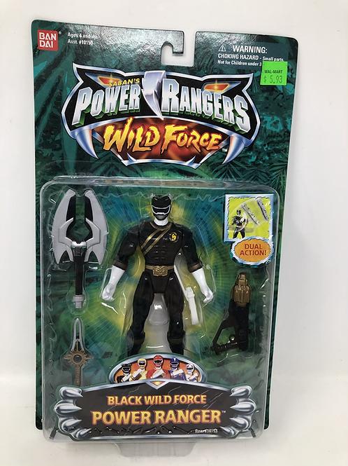 Power Rangers Wild Force Black Ranger Bandai