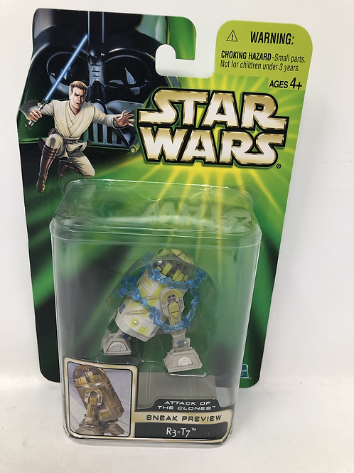 Star Wars Attack of the Clones Sneak Preview R3-T7 Hasbro