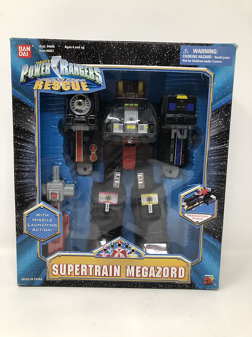 Power Rangers Lightspeed Rescue Supertrain Megazord