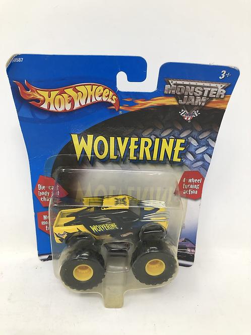 Marvel Wolverine Hot Wheels Monster Jam Die Cast