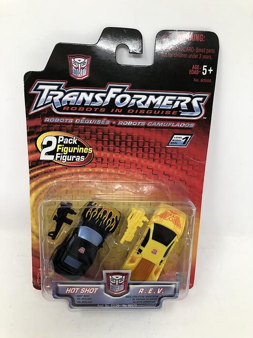Transformers Hot Shot / REV Hasbro 2 Pack