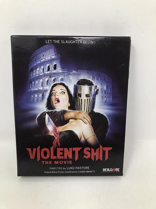 Violent Shit Blu Ray DVD CD Limited Boxset Goblin