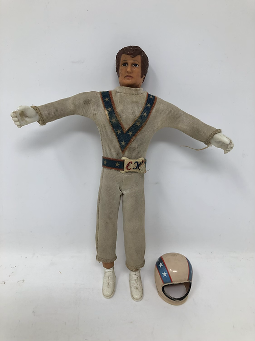 "Evel Knievel Bendy 7"" 1972 Ideal White Suit"