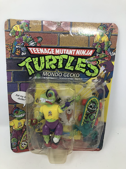 Tmnt Teenage Mutant Ninja Turtles Mondo Gecko 1990 Vintage Playmates