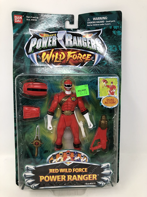 Power Rangers Wild Force Red Ranger Bandai