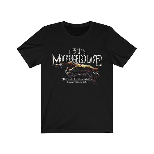1313 Mockingbird Lane Creepy Hand TShirt Bella + Canvas Unisex Short Sleeve Tee
