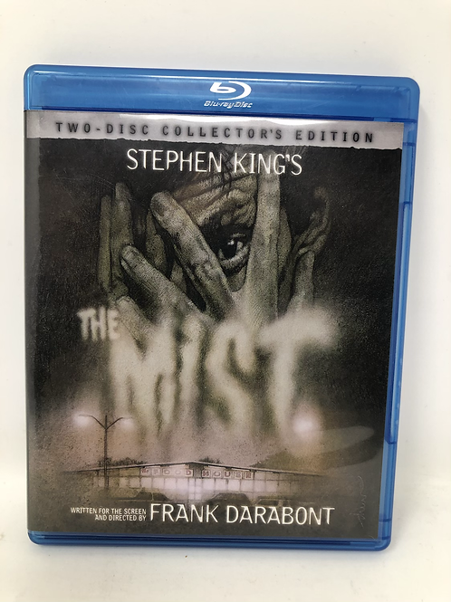 The Mist Double Disc Blu Ray Stephen King