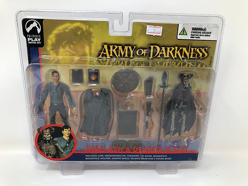 Army of Darkness Hero Ash & Deadite Scout 2004 Palisades