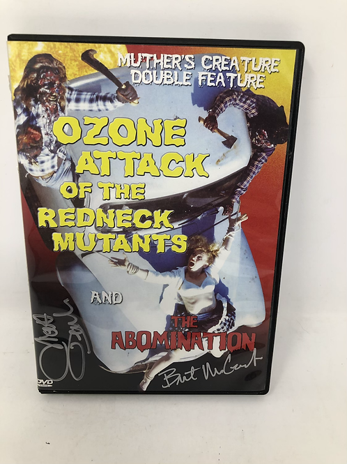Signed Abomination  / Ozone Attack of the Redneck Mutants DVDR Double Disc