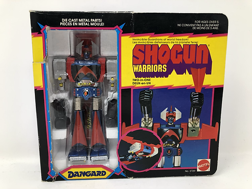 "Dangard 6"" Shogun Warrior Diecast Mattel"