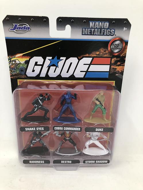 GIJOE Diecast Metal Figures 6 Piece Set