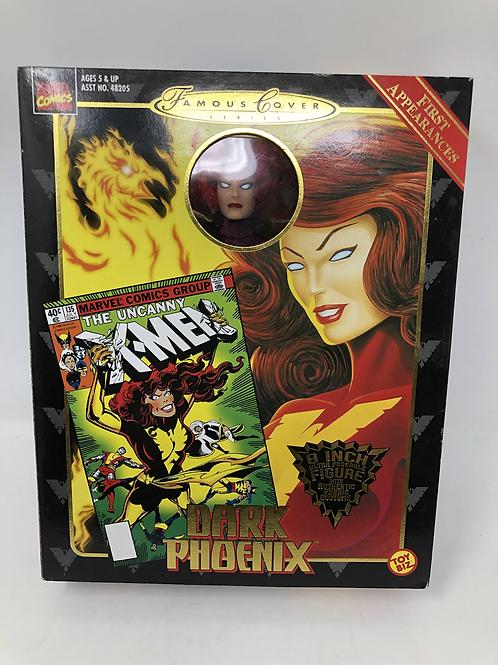 """Famous Covers Marvel Dark Phoenix 8"""" Toybiz"""