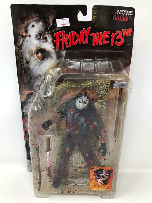 Friday the 13th Jason Voorhees Bloody Variant Movie Maniacs 1999 Mcfarlane