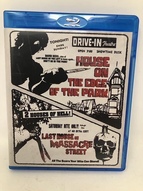 House on the Edge of the Park / Last House on Massacre Street Blu Ray