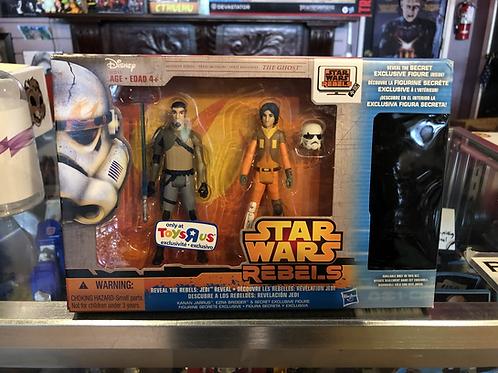 Star Wars Rebels Toys R Us 3 Pack Hasbro