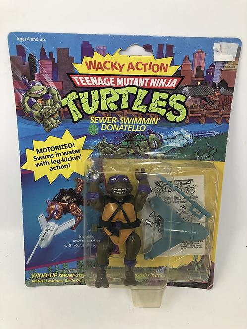Tmnt Teenage Mutant Ninja Turtles Sewer Swimmin Donatello Playmates