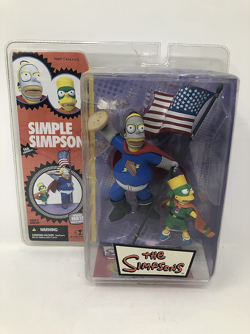 The Simpsons Simple Simpson McFarlane Toys