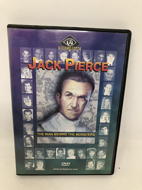 Jack Pierce DVD Man Behind the Monsters OOP