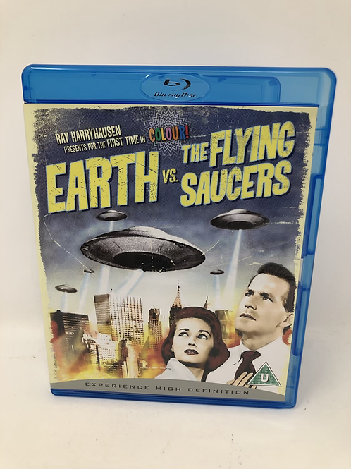 Earth Vs the Flying Saucers Blu Ray