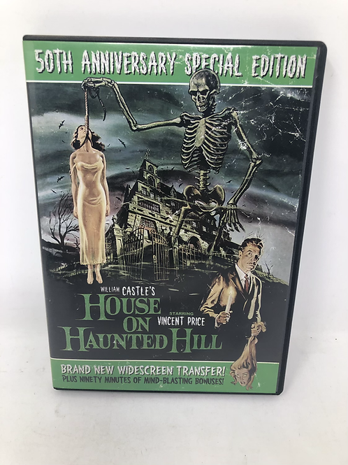 House on Haunted Hill Vincent Price DVD