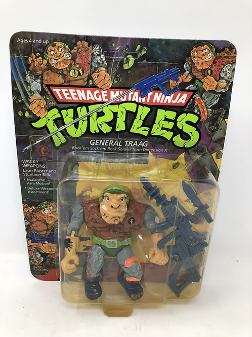 TMNT General Traag Vintage Playmates Unpunched