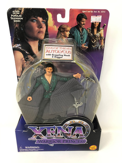 Xena Autolycus Bruce Campbell action figure