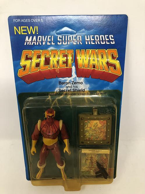 Marvel Secret Wars Baron Zemo Mattel
