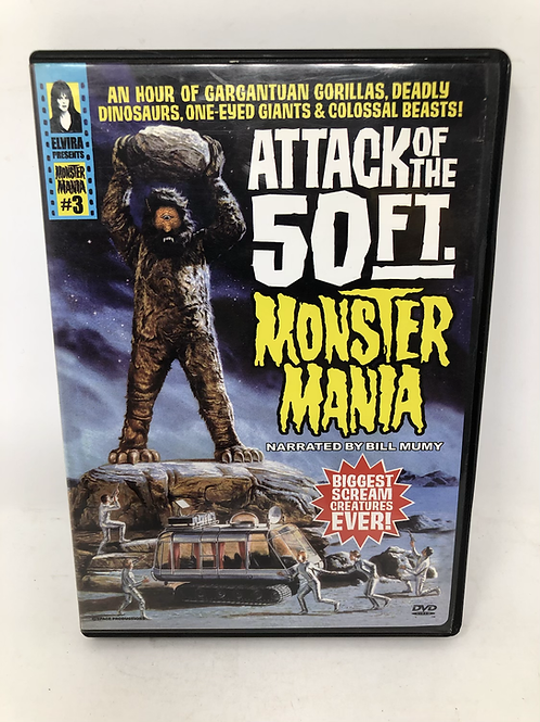 Attack of the 50 Ft Monster Mania DVD