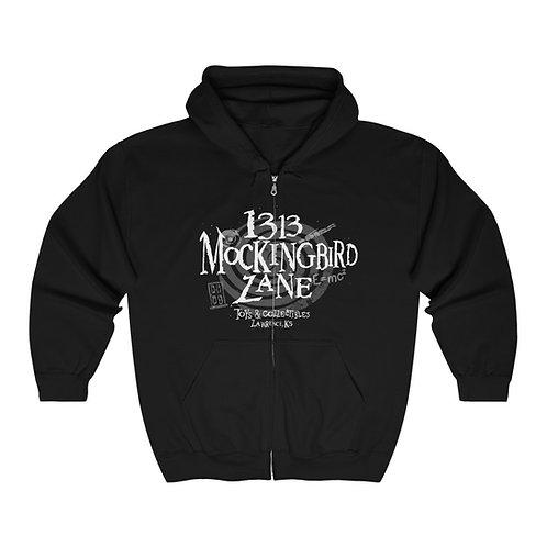 1313 Mockingbird Lane Zone Unisex Zip Up Zipper Hoodie Hooded Sweatshirt