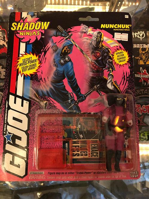 GIJOE Shadow Ninjas Nunchuk 1993 Hasbro