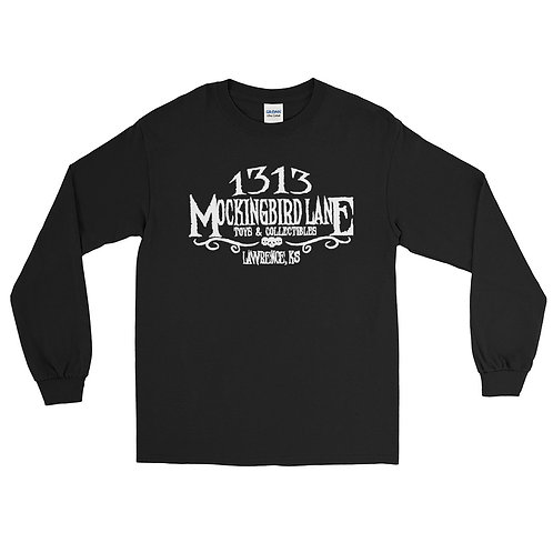 1313 MBL Logo Unisex Long Sleeve T-Shirt by Gildan