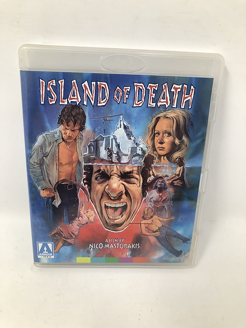 Island of Death Double Disc Blu Ray Arrow Video