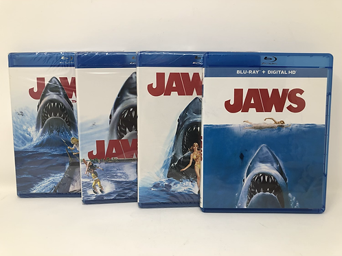 Jaws 1-4 Blu Ray Lot