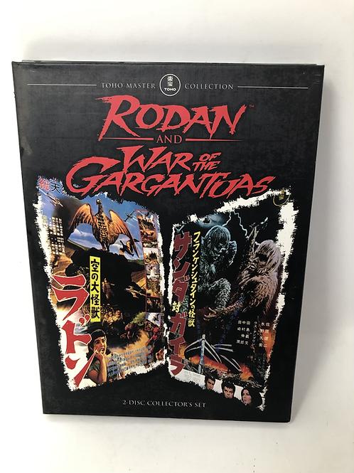 Rodan and War of the Gargantuas Double DVD